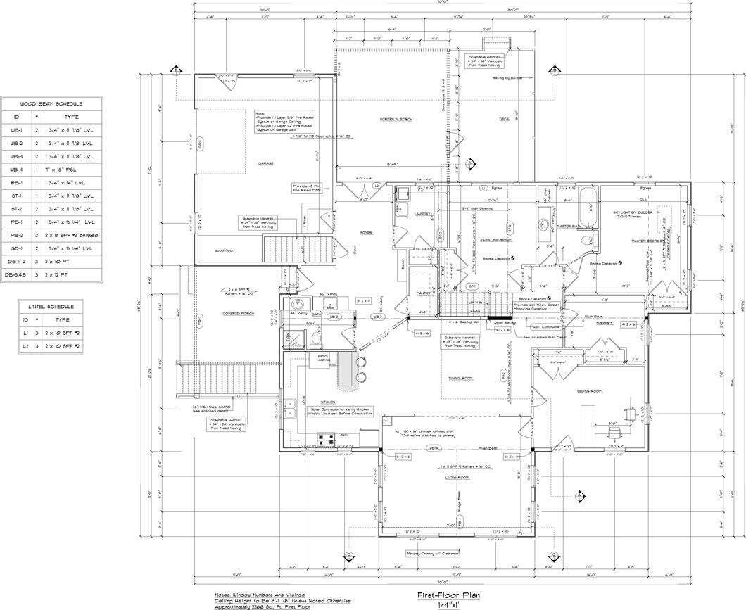 Custom House Floor Plans Family Home